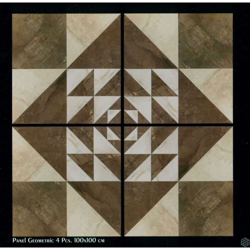 Vendome (Panel Geometric 4 Pcs - Floor Tile