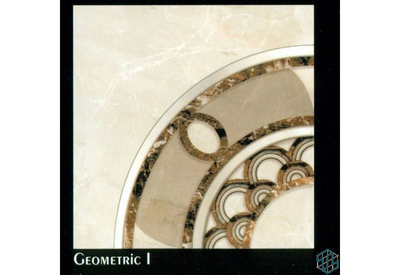 Dynasty (Geometric 1) - Floor Tile