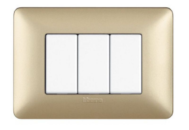 Gold Metallics Cover Plates