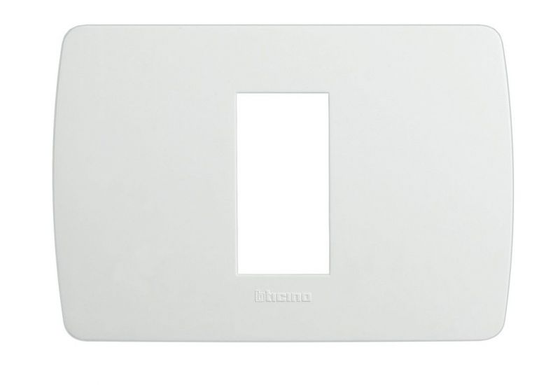 Solida White Cover Plate One Module