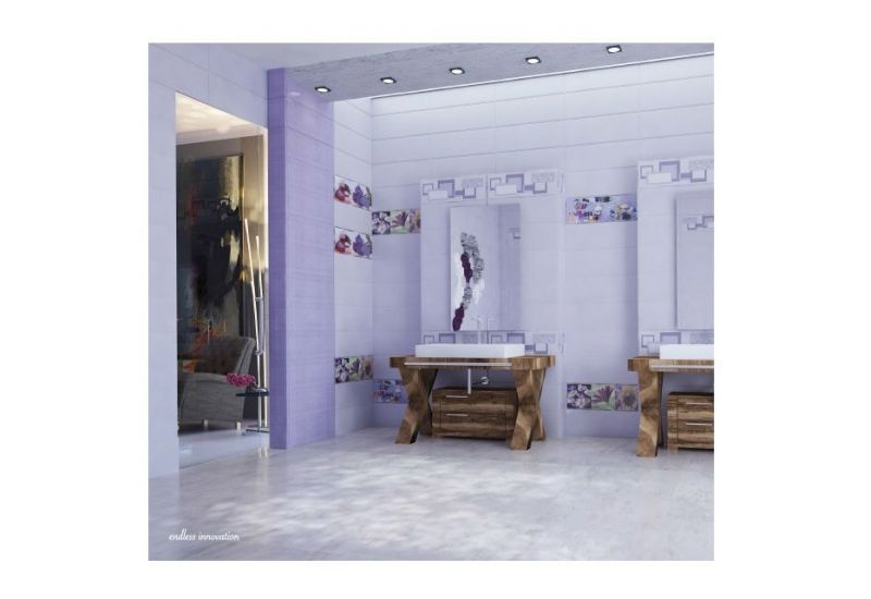 "Ceramic Wall Tiles""IJ 7001 B Dark purple"""