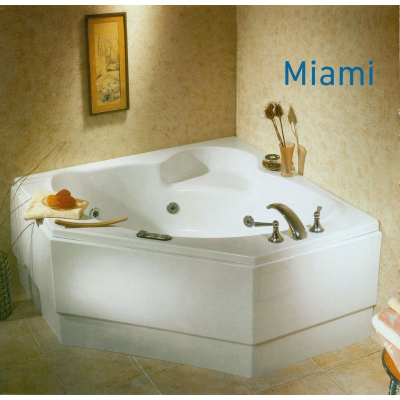 Sanitary ware Miami Bathtub (125*125)