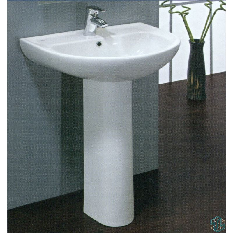 Space Floor Pedestal Basin 55 cm